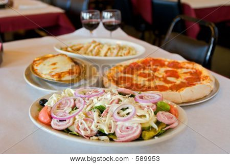Simple Italian Meal