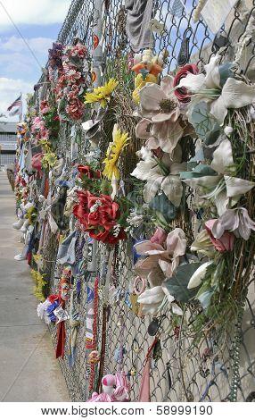 Oklahoma City Bombing Memorial Fence