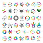 biggest collection of vector icons Union bussines poster