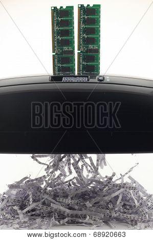 Memory Chip Shredding Binary Data