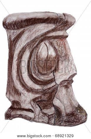 Wooden Artifact