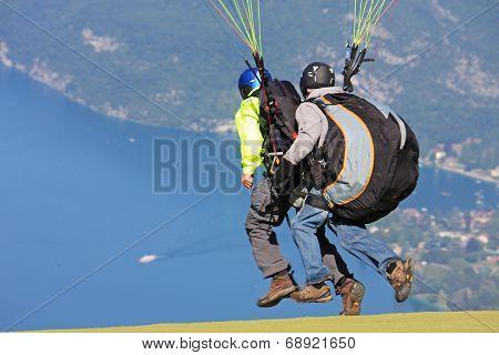 Tandem Paraglider