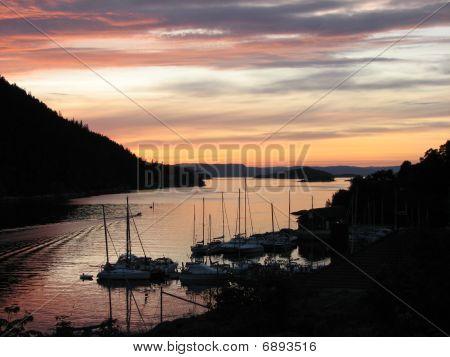 Oslo fjord near Drobak, Norway, Scandinavia, Northern Europe