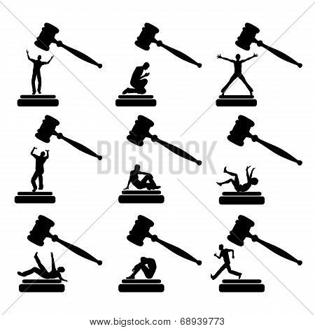 People in Court