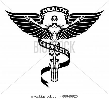 Chiropractic Symbol Or Icon