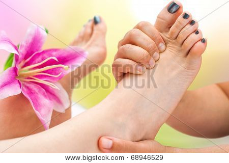 Extreme Close Up Foot Massage