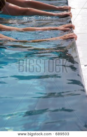Edge Of A Pool