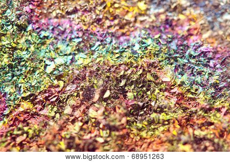 Fantastic Background, Magic Of A Stone, Rainbow In Metal Rock (big Collection )
