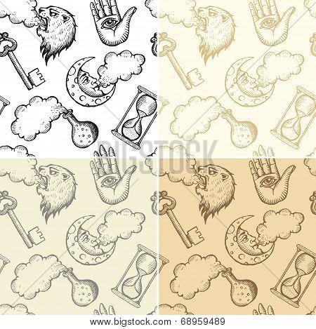 Seamless Alchemy Patterns