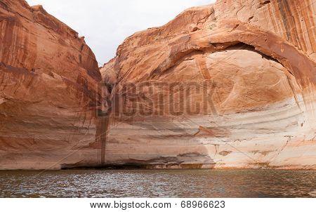 Lake Powell Dry Waterfall