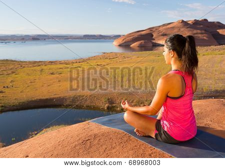 Inner Peace And Lake Powell