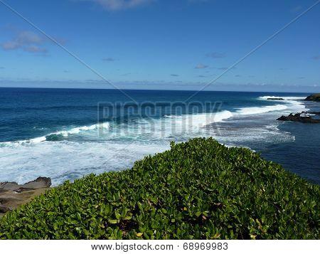 Beach At Gris Gris Cliff