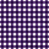 Bright Purple Gingham Pattern Repeat Background that is seamless and repeats poster