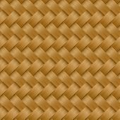 Cane wicker woven fiber seamless pattern . poster