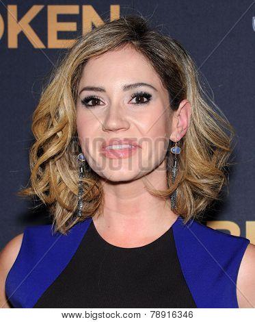 LOS ANGELES - DEC 15:  Ashley Jones arrives to the