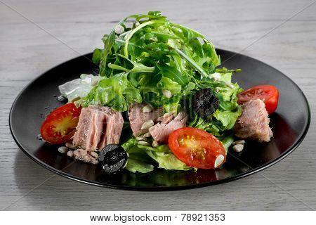 Tune ceaser salad