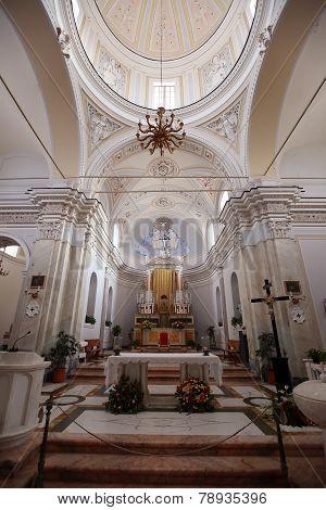 Chiesa San Vincenzo On Stromboli Island