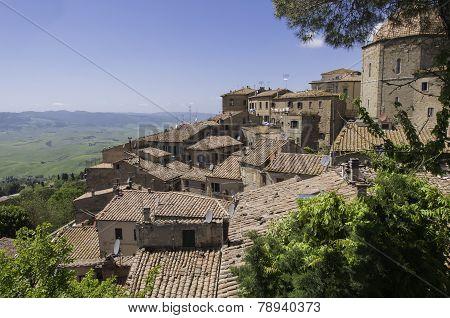 Lookout In Volterra