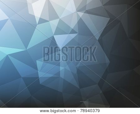 Abstract Background Dark Blue And Black