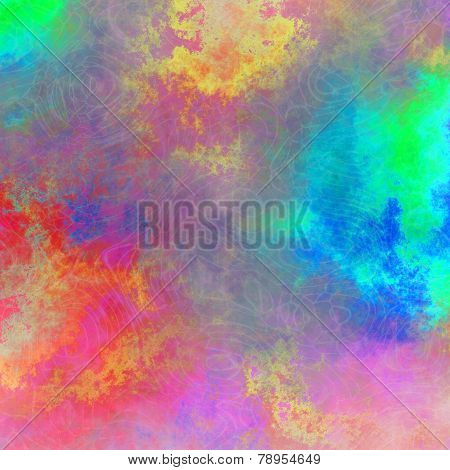 Radiant Colorful Plasmatic Texture Or Background