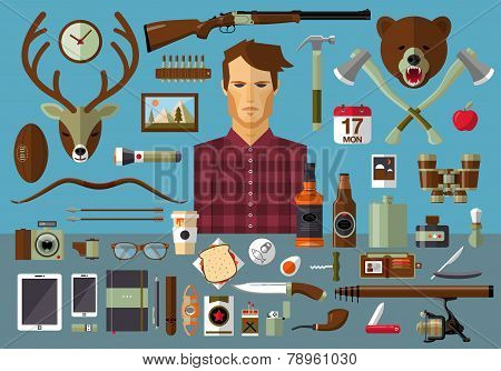 Man Tools And Equipment