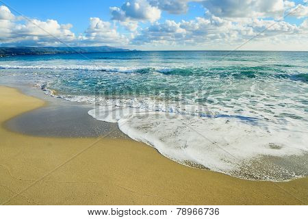 Waves In Le Bombarde Beach