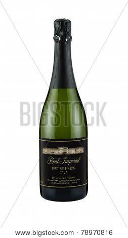 Sparkling White Wine Real Imperial Brut-seleccion Cava