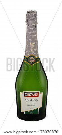 Bottle Of Cinzano Prosecco Gran Cuvee Dry