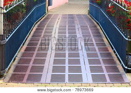 Metal Bridge.