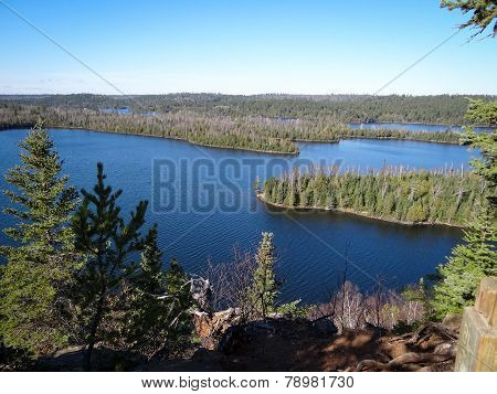 View Of Boundary Waters Lakes