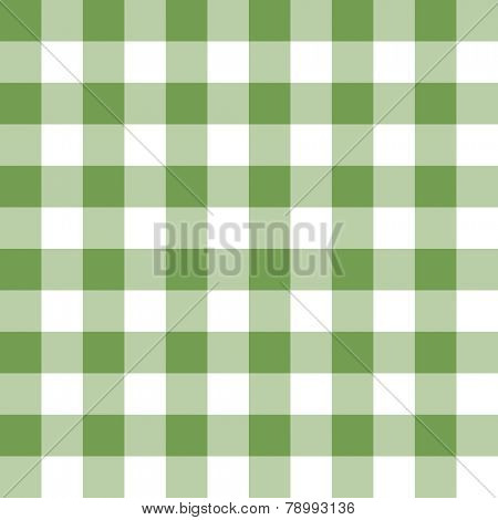 Two toned green and white checkered, seamless background pattern