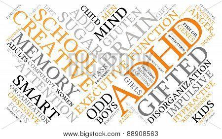 ADHD Word Cloud