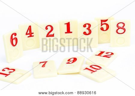 Rummy pieces