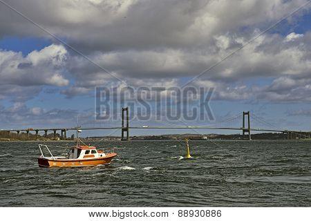 Boats And Bridge