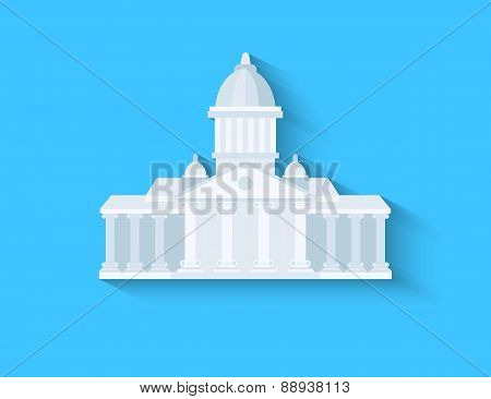 Government flat design