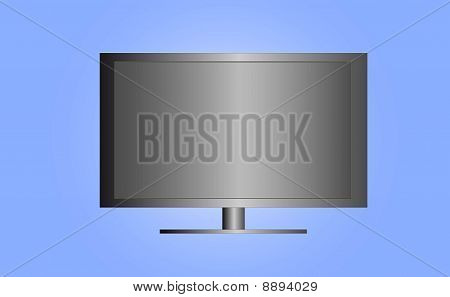 Flat Screen Television ( background on separate layer )
