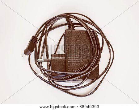 Retro Look Electrical Transformer