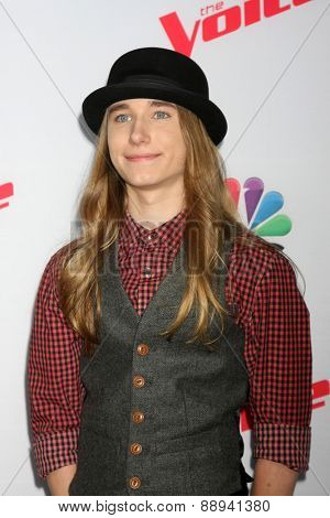 LOS ANGELES - FEB 23:  Sawyer Fredericks at the
