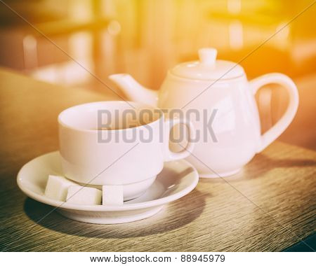 Cup And Teapot