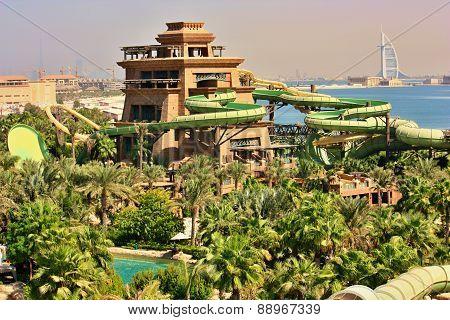 Atlantis, aquaventure waterpak, Dubai