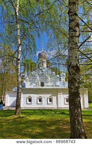 Old church in Museum-Estate Arkhangelskoye near Moscow - Russia