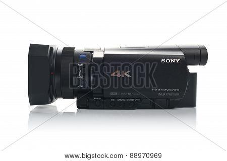 Sony Fdr Ax100 4K Uhd Handycam Camcorder