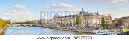 D'orsay Museum Building In Paris, France