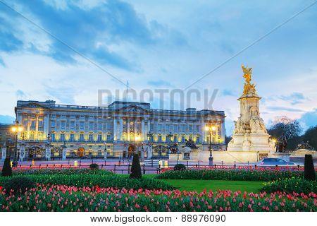 Buckingham Palace In London, Great Britain