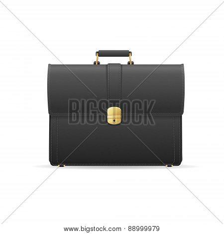 Vector briefcase, cuitcase