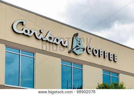 Caribou Coffee Corporate Headquarters And Logo.