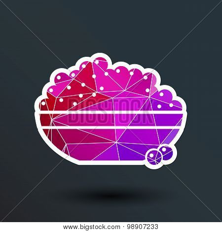 Black caviar logo seafood vector appetite appetizer. poster