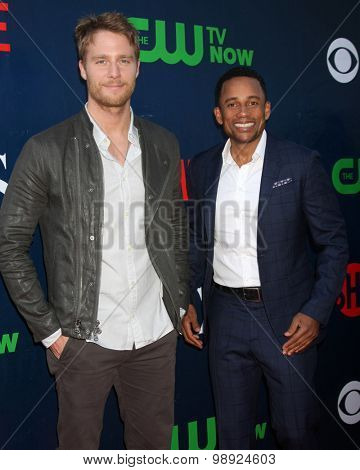 LOS ANGELES - AUG 10:  Jake McDorman, Hill Harper at the CBS TCA Summer 2015 Party at the Pacific Design Center on August 10, 2015 in West Hollywood, CA