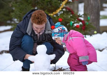 To Build A Snowman