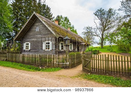 Old house with the fence